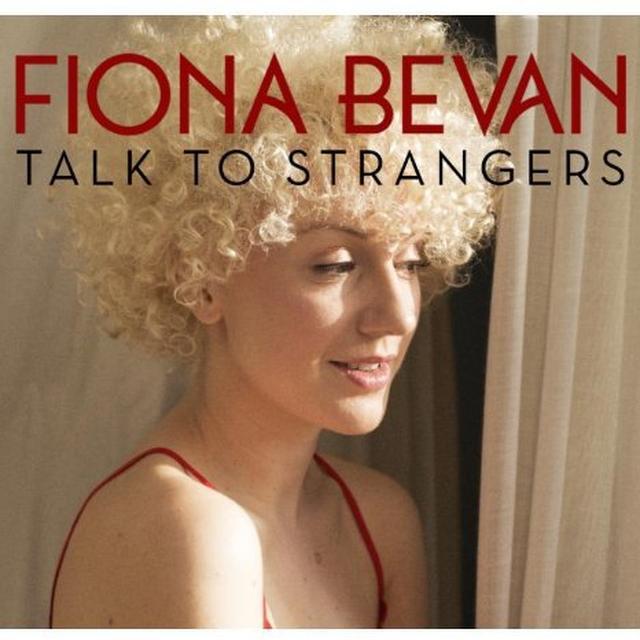 Fiona Bevan TALK TO STRANGERS Vinyl Record