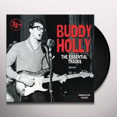 Buddy Holly ESSENTIAL TRACKS Vinyl Record - UK Import