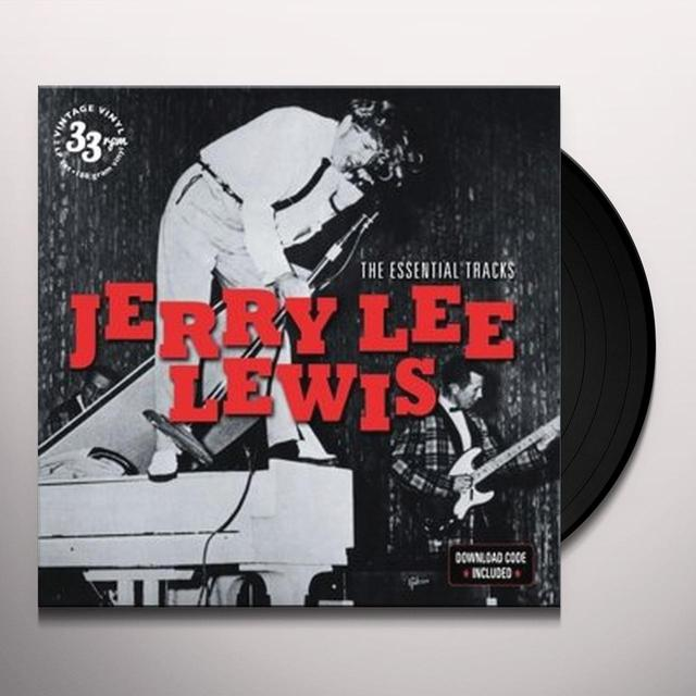 Jerry Lee Lewis ESSENTIAL TRACKS Vinyl Record - UK Import