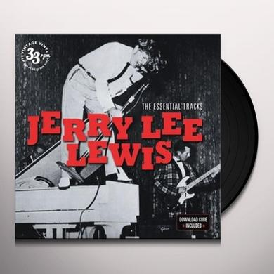Jerry Lee Lewis ESSENTIAL TRACKS Vinyl Record - UK Release
