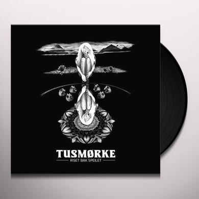 Tusmorke RISET BAK SPEILET (WHITE VINYL) Vinyl Record