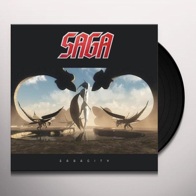 SAGA CITY Vinyl Record - UK Import