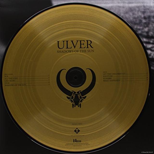 Ulver SHADOWS OF THE SUN Vinyl Record - UK Release