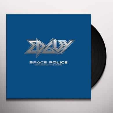 Edguy SPACE POLICE-DEFENDERS OF THE CROWN Vinyl Record - UK Import