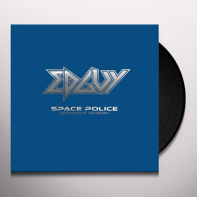 Edguy SPACE POLICE-DEFENDERS OF THE CROWN Vinyl Record - UK Import