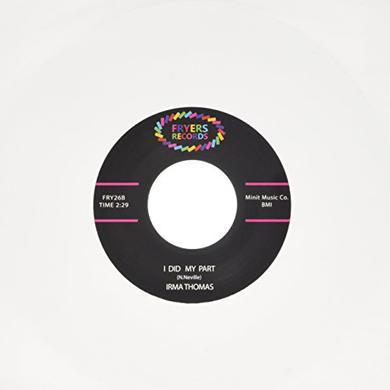 Irma Thomas DONT MESS WITH MY MAN Vinyl Record