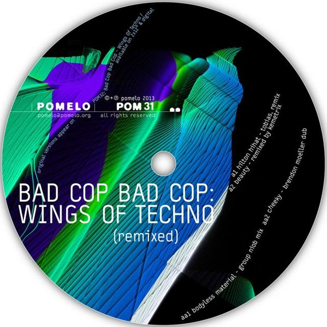 Bad Cop Bad Cop WINGS OF TECHNO (REMIXED) Vinyl Record - UK Release
