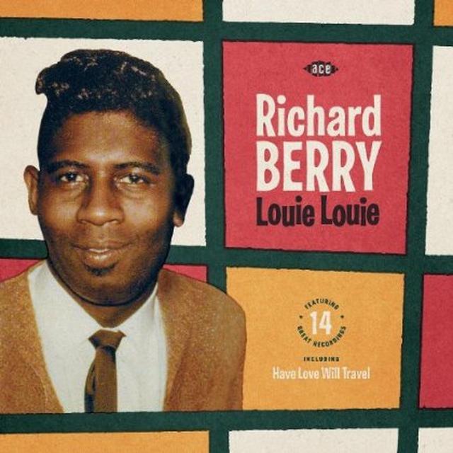 Richard Berry LOUIE LOUIE Vinyl Record - UK Import