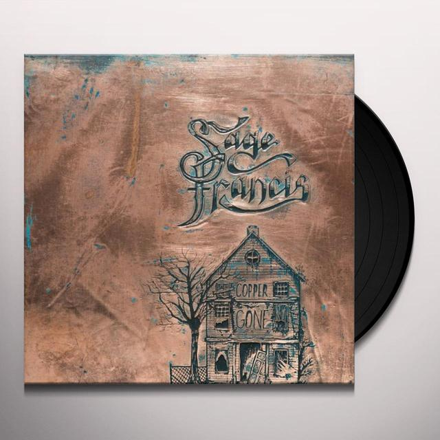 Sage Francis COPPER GONE Vinyl Record - UK Import