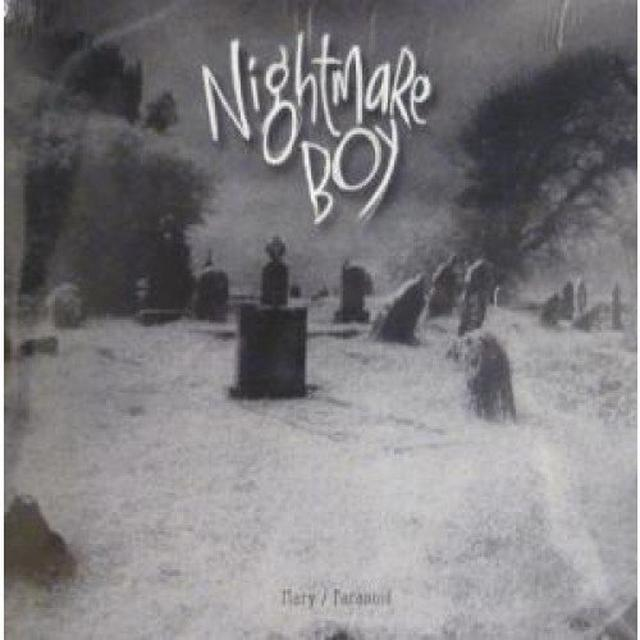 Nightmare Boy MARY/PARANOID Vinyl Record - UK Import