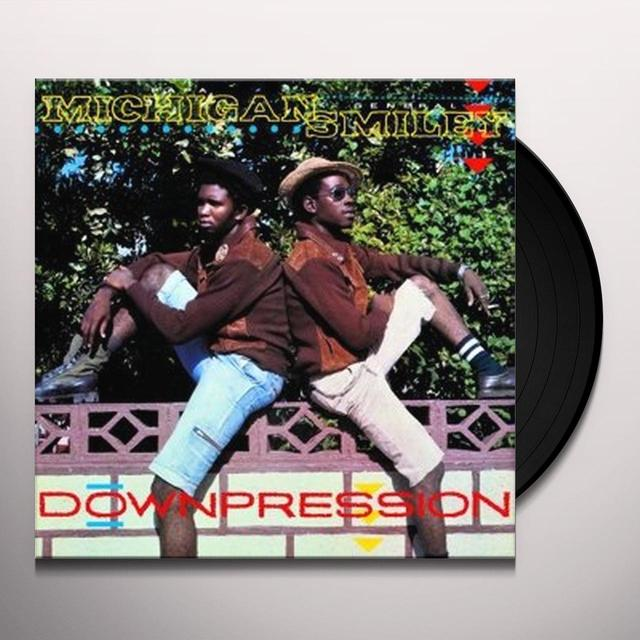 Papa Michigan & General Smiley DOWNPRESSION Vinyl Record - UK Release