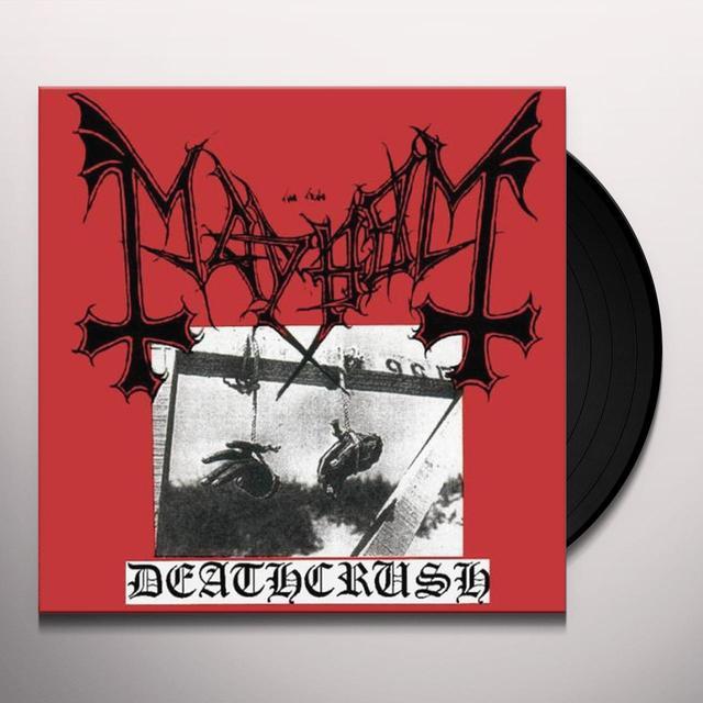 Mayhem DEATHCRUSH Vinyl Record - Canada Release