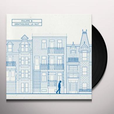 Philippe B ORNITHOLOGIE LA NUIT Vinyl Record - Canada Import