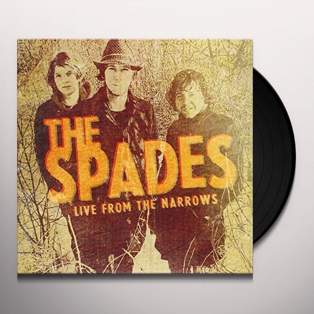 Spades LIVE FROM THE NARROWS Vinyl Record - Canada Import
