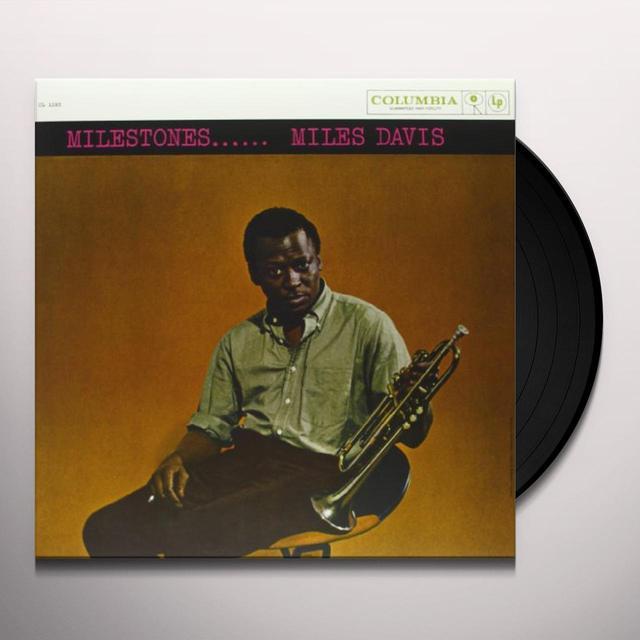 Miles Davis MILESTONES Vinyl Record - Mono