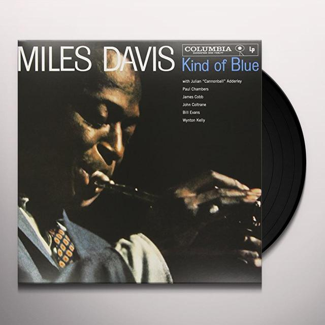 Miles Davis KIND OF BLUE Vinyl Record - Mono