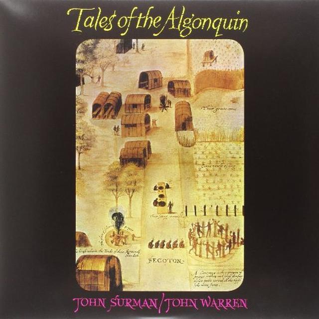 John/Warren John Surman TALES OF THE ALGONQUIN Vinyl Record - Italy Import
