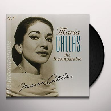 Maria Callas INCOMPARABLE Vinyl Record