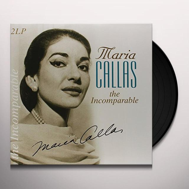 Maria Callas INCOMPARABLE Vinyl Record - Holland Import