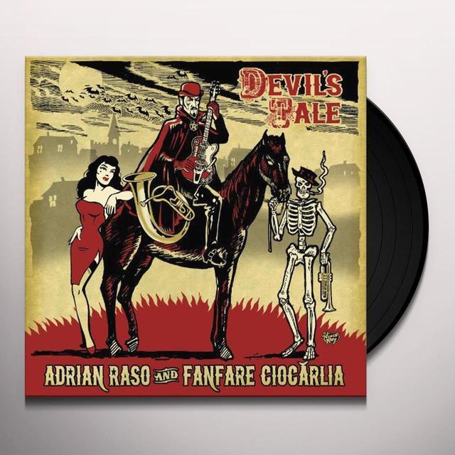 Adrian Raso DEVILS TALE Vinyl Record
