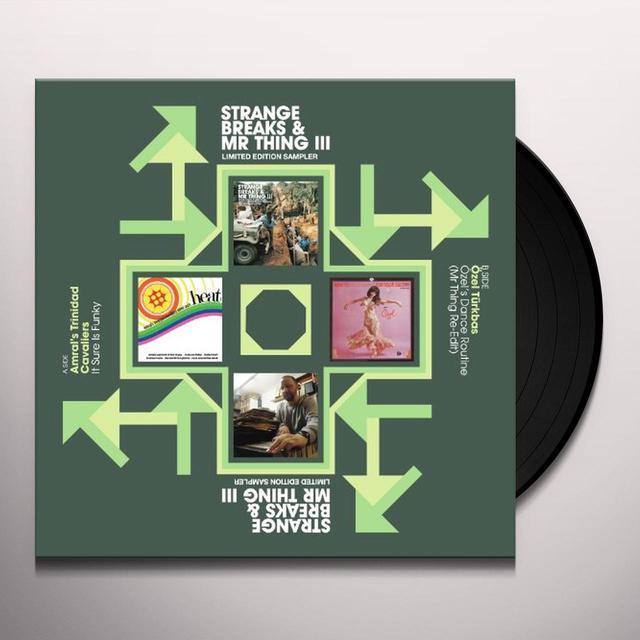 STRANGE BREAKS & MR THING III / VARIOUS (Vinyl)