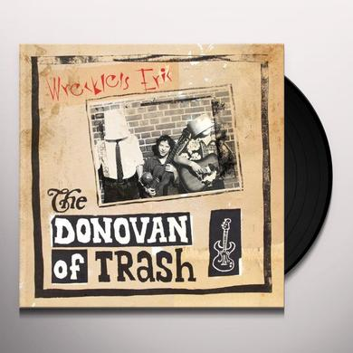 Wreckless Eric DONOVAN OF TRASH Vinyl Record