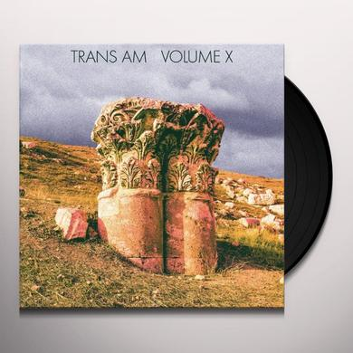 Trans Am VOLUME X Vinyl Record