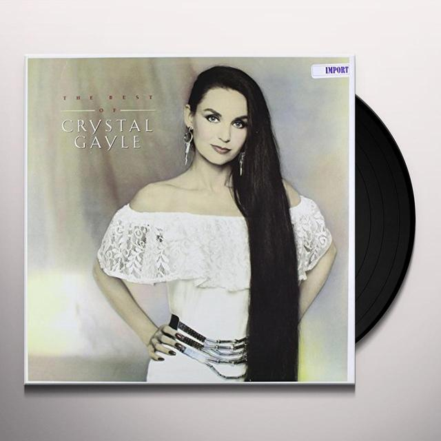 BEST OF CRYSTAL GAYLE Vinyl Record