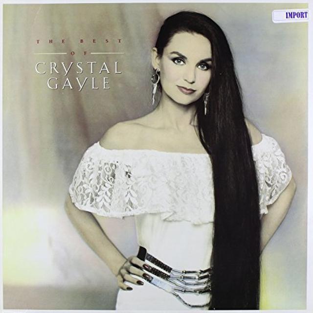 BEST OF CRYSTAL GAYLE Vinyl Record