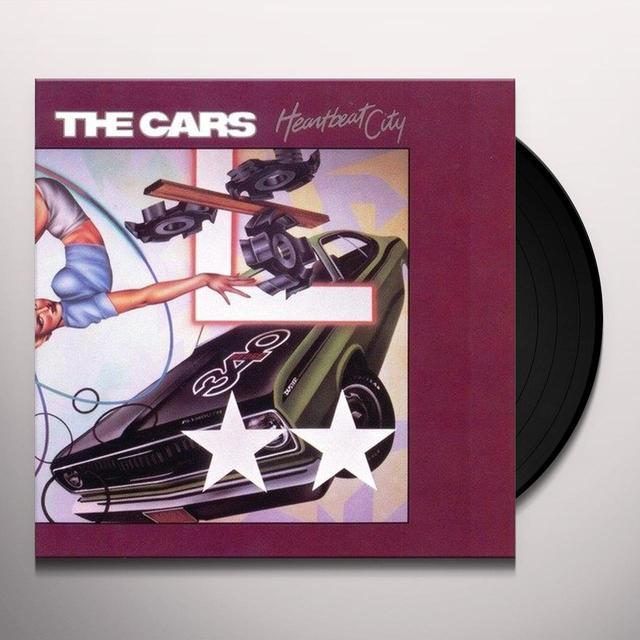 The Cars HEARTBEAT CITY Vinyl Record
