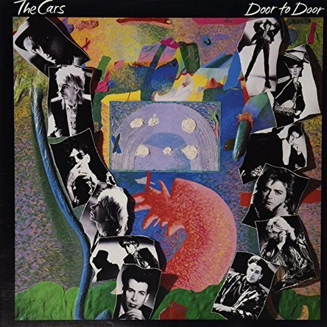The Cars DOOR TO DOOR Vinyl Record