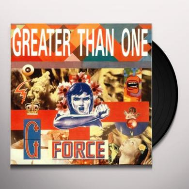 Greater Than One G FORCE Vinyl Record