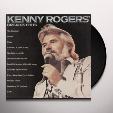 Kenny Rogers GREATEST HITS Vinyl Record