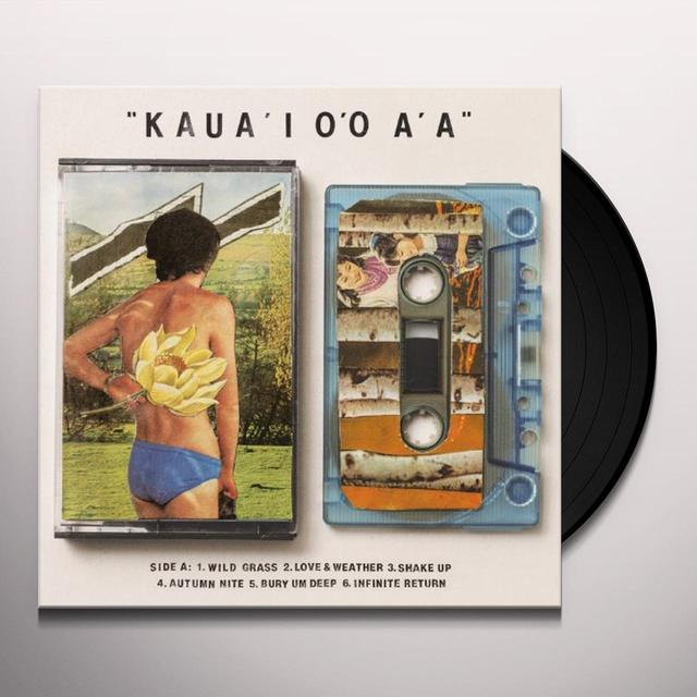 Gentle Friendly KAUA'I O'O A'A Vinyl Record