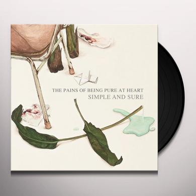 The Pains Of Being Pure At Heart SIMPLE & SURE Vinyl Record