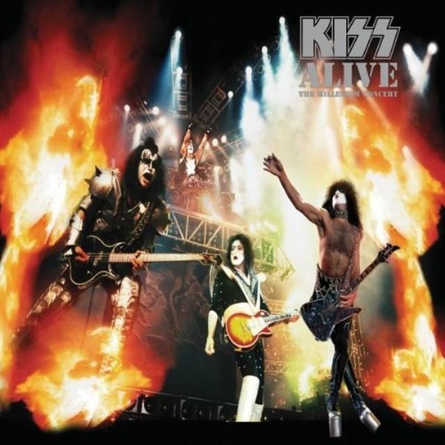 Kiss ALIVE: THE MILLENNIUM CONCERT Vinyl Record