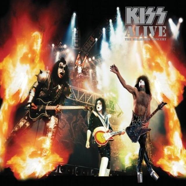 Kiss ALIVE: THE MILLENNIUM CONCERT Vinyl Record