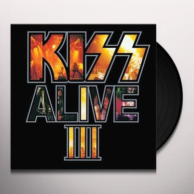 Kiss ALIVE III Vinyl Record - Limited Edition, Remastered