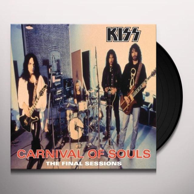 Kiss CARNIVAL OF SOULS Vinyl Record