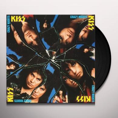 Kiss CRAZY NIGHTS Vinyl Record