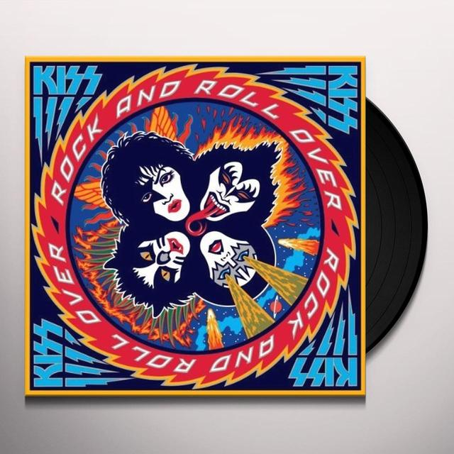 Kiss ROCK AND ROLL OVER Vinyl Record - Limited Edition, Remastered