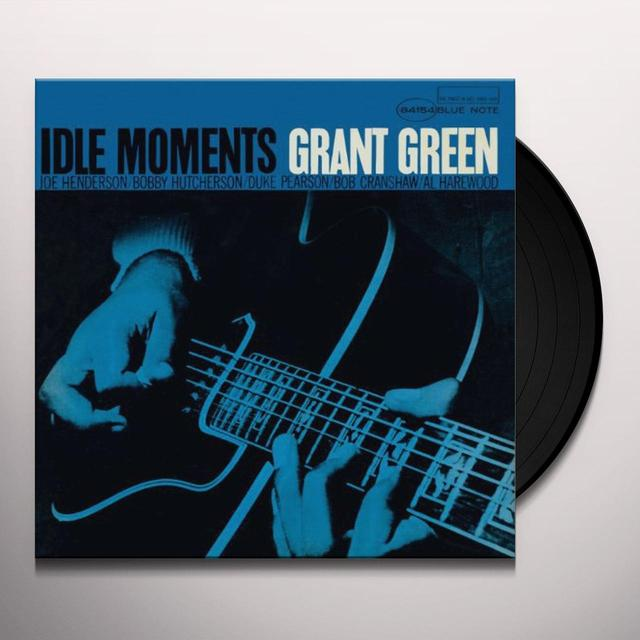 Grant Green IDLE MOMENTS Vinyl Record - Reissue