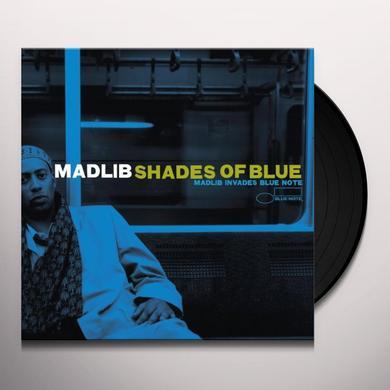 Madlib SHADES OF BLUE Vinyl Record - Reissue