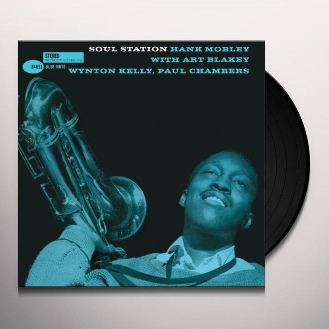 Hank Mobley SOUL STATION Vinyl Record - Reissue