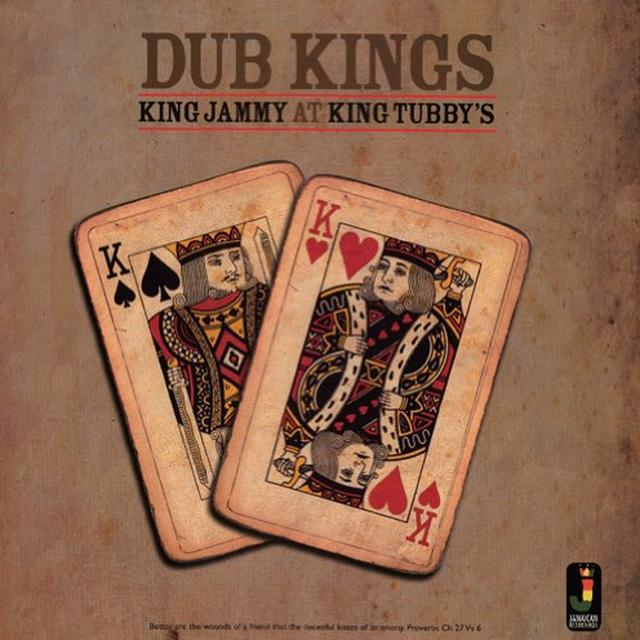 King Jammy At King Tubbys DUB KINGS Vinyl Record