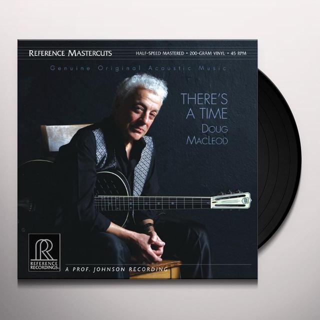 Doug Macleod THERES A TIME Vinyl Record