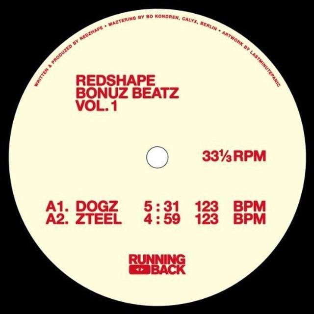 Redshape BONUZ BEATZ VOL 1 Vinyl Record