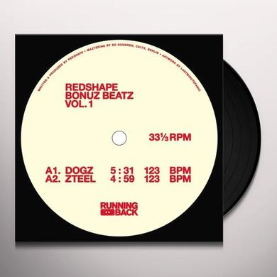 Redshape BONUZ BEATZ VOL 1 Vinyl Record