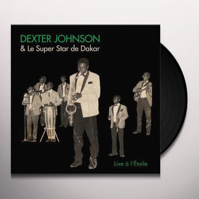 Dexter Johnson LIVE A LETOILE Vinyl Record