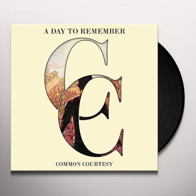 A Day To Remember COMMON COURTESY Vinyl Record